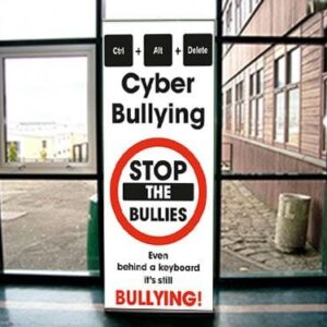Ctrl Alt Del Bullying Pull Up Banners