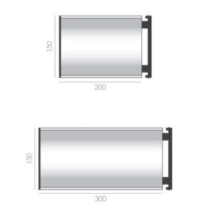 Deluxe Wall Bracket Projection Signs alternate image