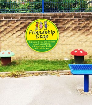 Custom Friendship Stop / Information Sign alternate image