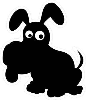 Dog Chalkboard alternate image