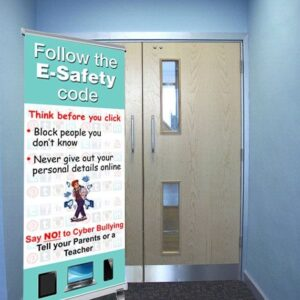 E-Safety pull up banner