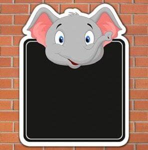 elephant-topped-chalkboard-size-915mm-x-713mm-5mm-pvc-wall-fixing-2776-p[ekm]296×310[ekm]
