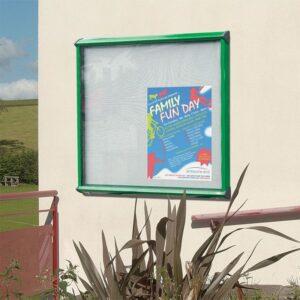 Exterior Postercase / Information message display