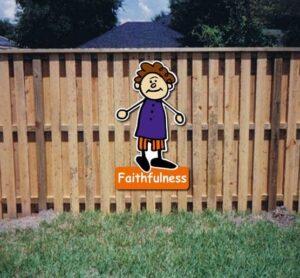 Joy Core Value Kiddie Sign alternate image