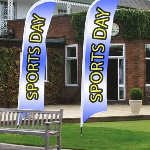 Feather Flags Sports Day or Promotions
