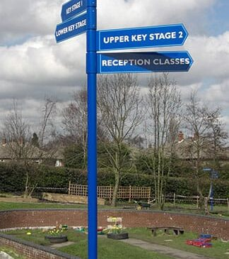 Fingerpost Directional Signs Way Finding Solution