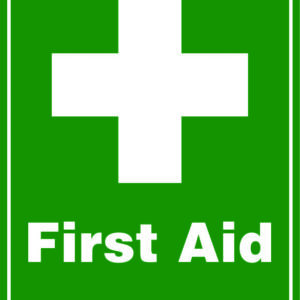 First Aid Sign alternate image