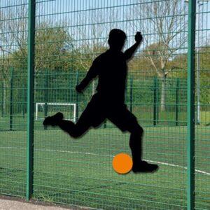 Footballer Shadow Sign Schools