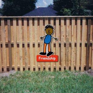 Friendship Core Value Kiddie Sign