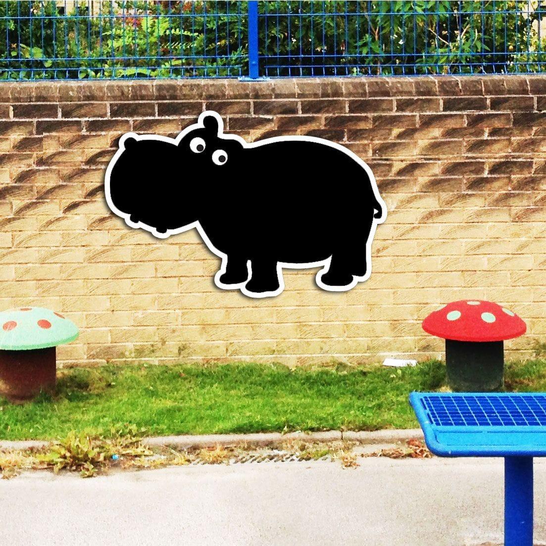 Hippo Chalkboard - Signs2Schools