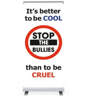 'It's better to be Cool, than Cruel' Pull Up Banner alternate image
