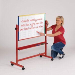 Junior mobile tilting whiteboards