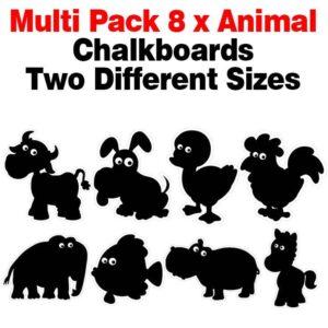Multi Pack Animal Chalkboards