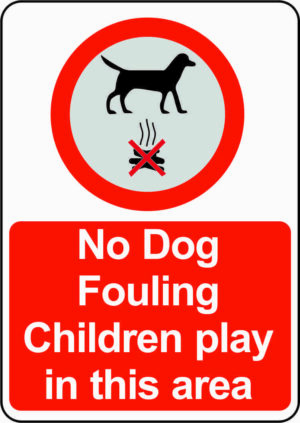 No Dog Fouling Sign alternate image