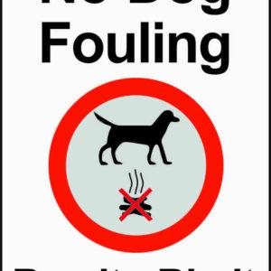 No Dog Fouling Bag it - Bin It sign alternate image