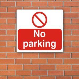 No Parking Sign alternate image