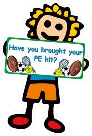 Playground PE Reminder Sign alternate image