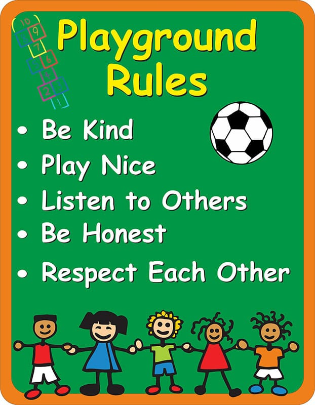 playground rules for preschoolers playground sign signs2schools 131