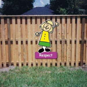 Respect Core Value Kiddie Sign