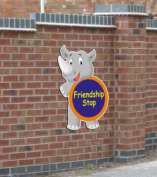 friendship stop sign