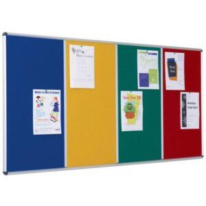 Shield Multi-banked noticeboards alternate image