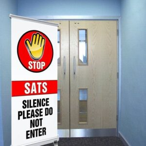 STOP Sats in progress pull up banner