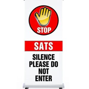 STOP Sats in progress pull up banner alternate image