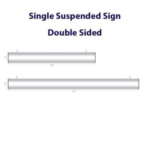 Suspended Ceiling Directional Signs alternate image