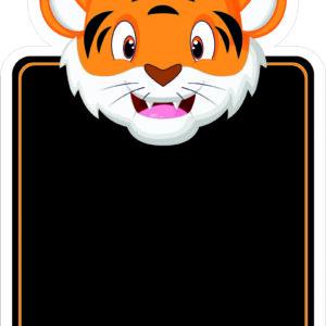 Tiger Topped Chalkboard alternate image