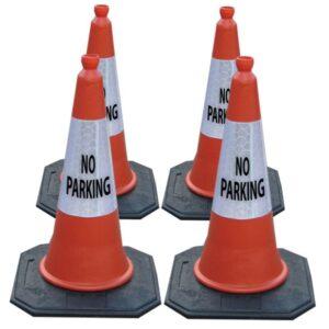 Traffic Cones No Parking alternate image