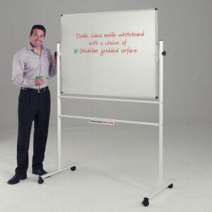 Write on revolving whiteboards