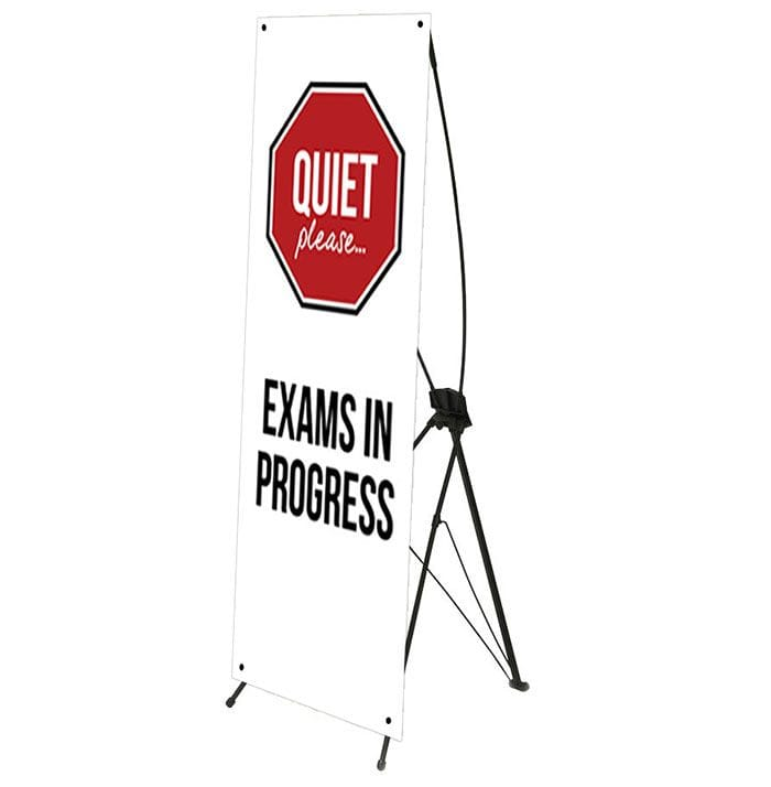 X-Frame Easy Assemble PVC Popup Banner - Signs2Schools